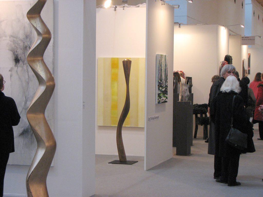 Art Karlsruhe 2006, mit Galerie ArtForum Hannover Bronzen