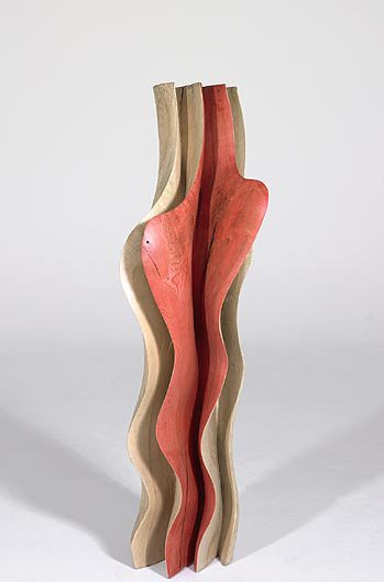 Skulptur Holz Esche